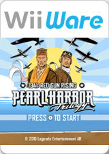 Pearl Harbor Trilogy: 1941: Red Sun Rising Wii Front Cover