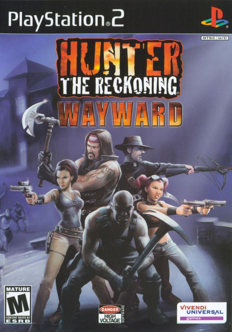 Hunter: The Reckoning - Wayward PlayStation 2 Front Cover