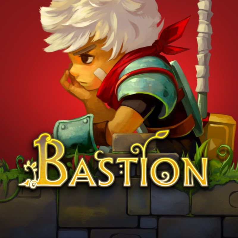 Bastion PlayStation 4 Front Cover