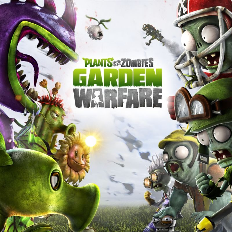 Plants vs. Zombies: Garden Warfare PlayStation 3 Front Cover