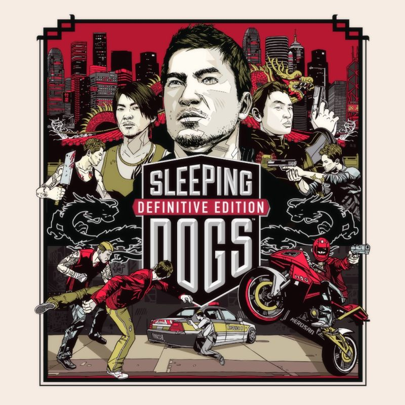 Sleeping Dogs: Definitive Edition PlayStation 4 Front Cover