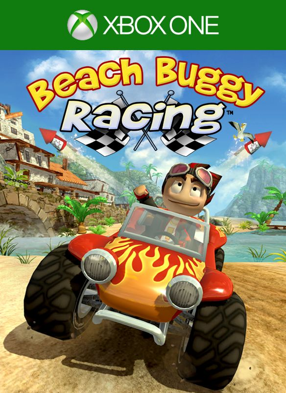 New Xbox One Racing Game : Beach buggy racing xbox one box cover art mobygames