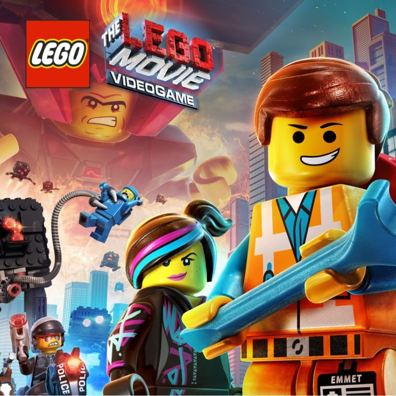 the lego movie videogame 2014 playstation 3 box cover