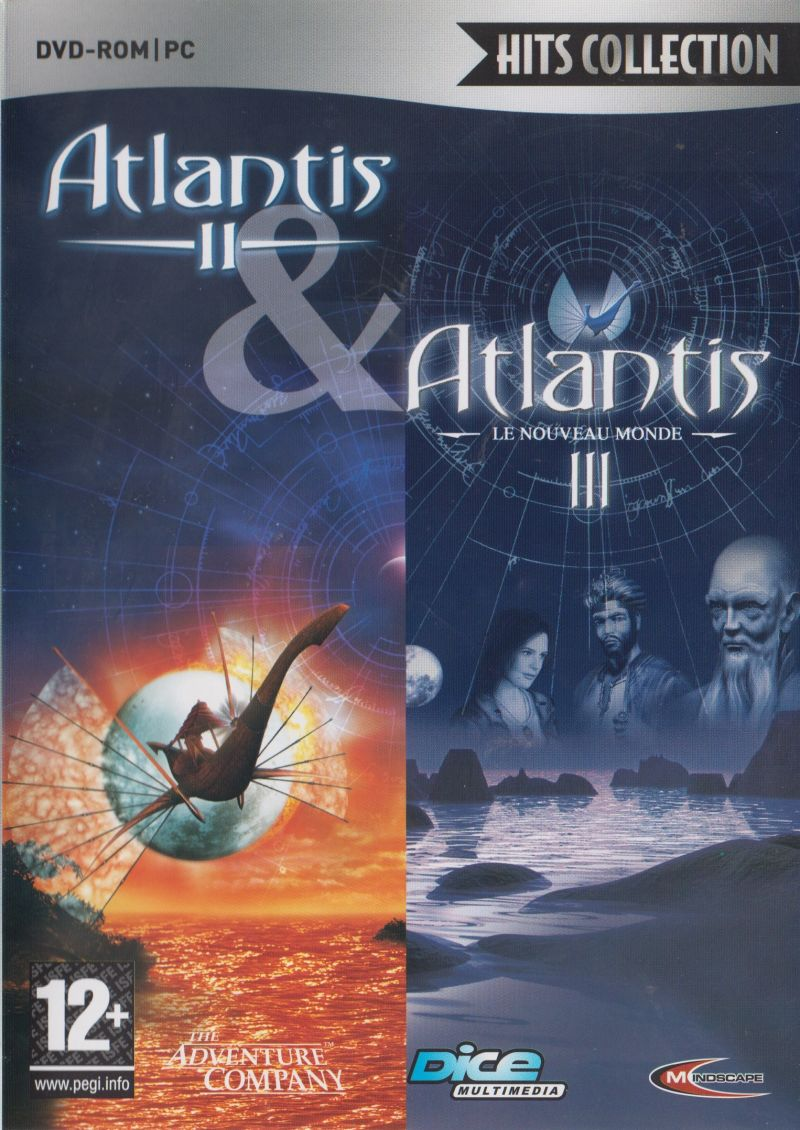 Atlantis II & Atlantis III Windows Front Cover