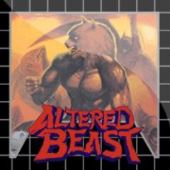 Altered Beast PlayStation 3 Front Cover