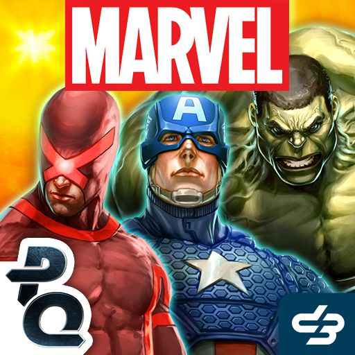 Marvel Puzzle Quest Android Front Cover R80 release