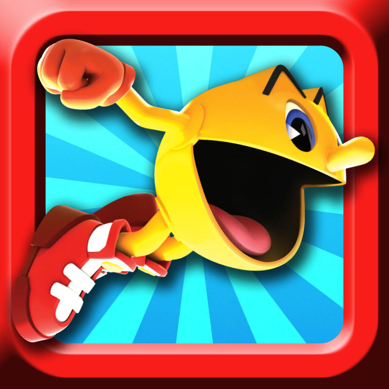 Pac-Man Dash! iPad Front Cover