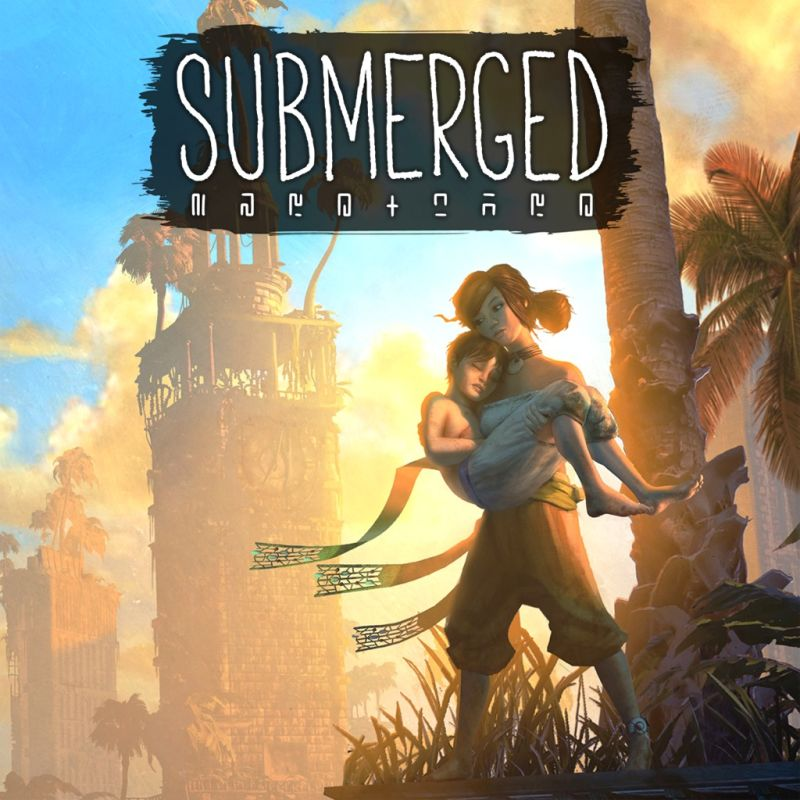 Submerged PlayStation 4 Front Cover
