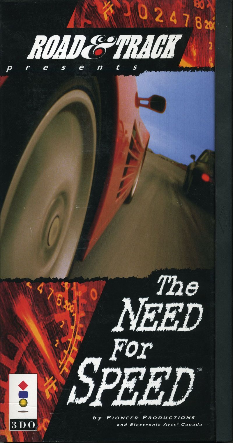 The Need For Speed 3DO Front Cover
