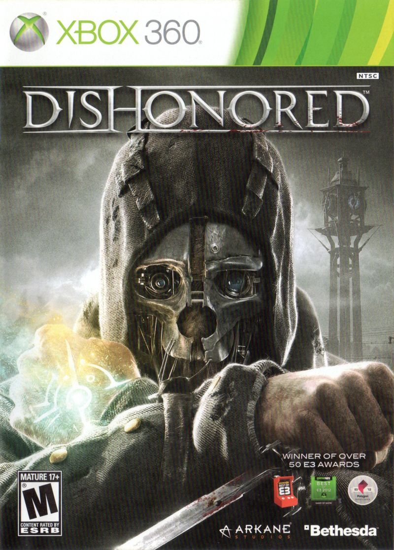 Dishonored (2012) Xbox 360 box cover art - MobyGamesXbox 360 Games Covers