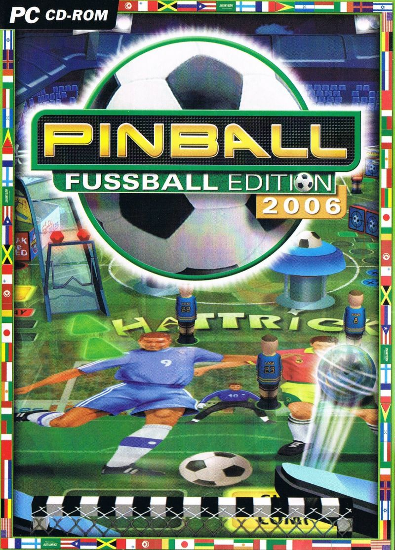 Pinball: Fussball Edition 2006 Windows Front Cover