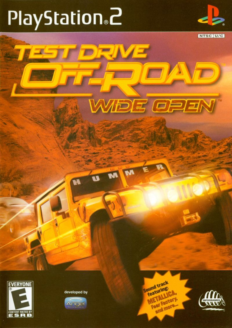 Test Drive: Off-Road - Wide Open PlayStation 2 Front Cover