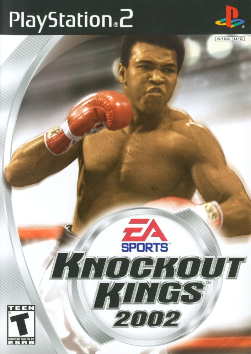 Knockout Kings 2002 PlayStation 2 Front Cover