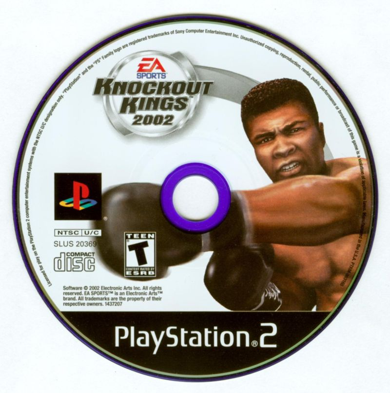 Knockout Kings 2002 PlayStation 2 Media