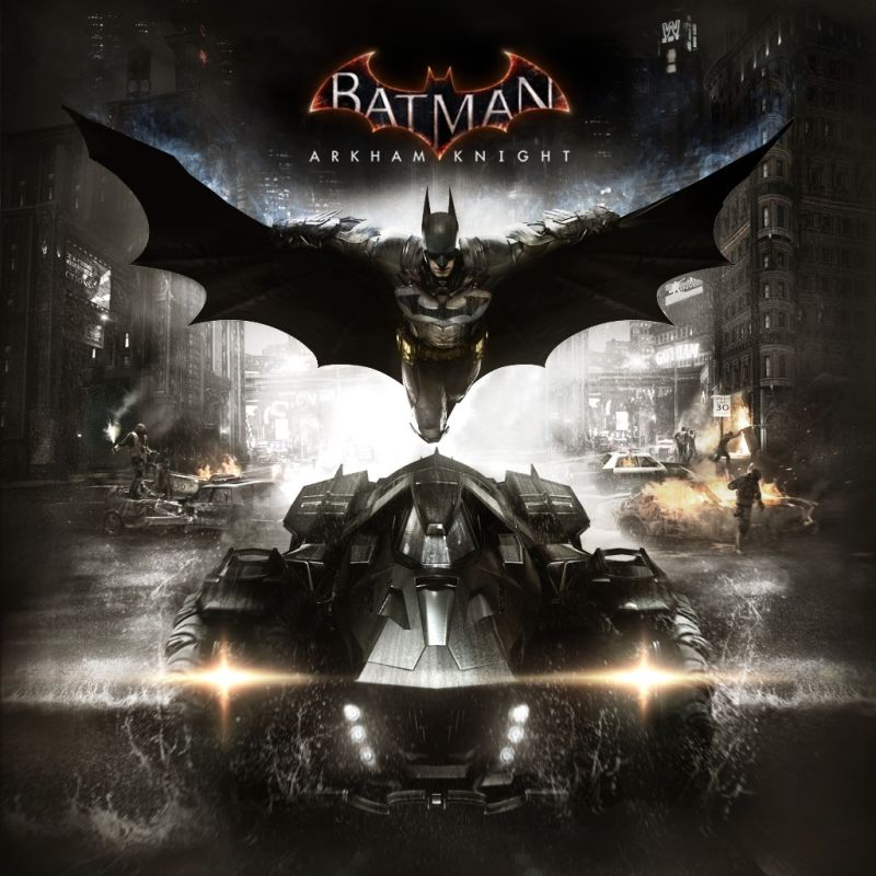 Batman: Arkham Knight PlayStation 4 Front Cover