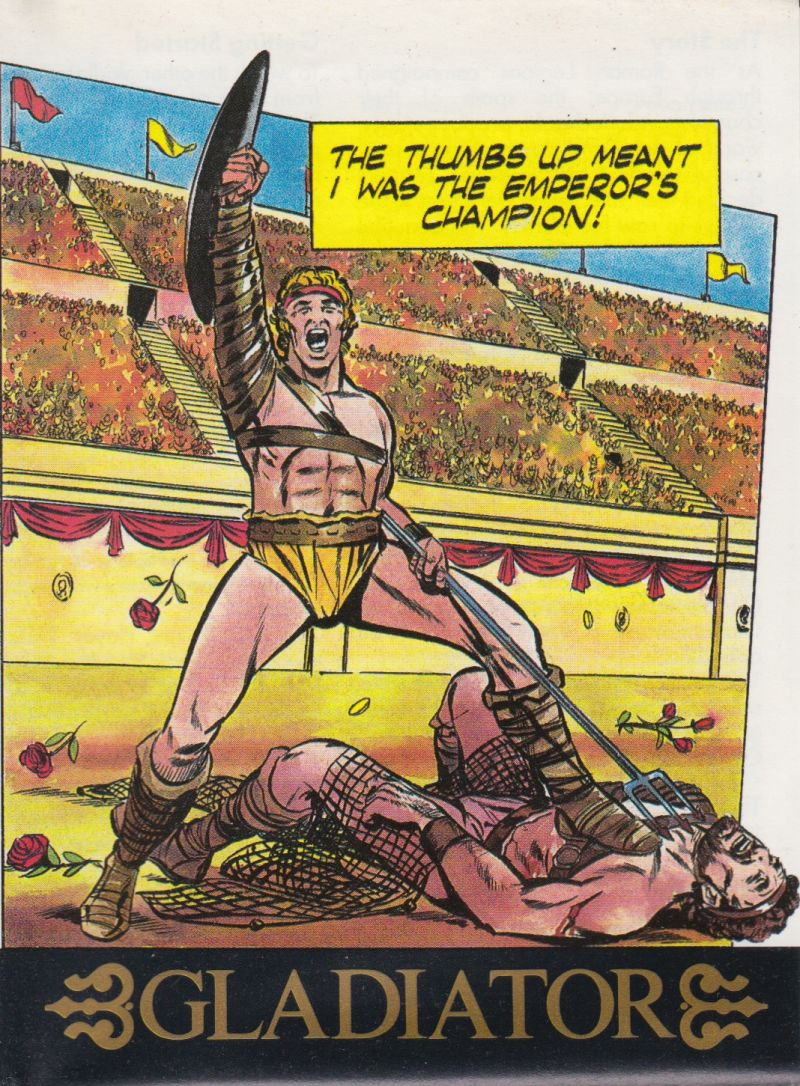 Gladiator ZX Spectrum Front Cover