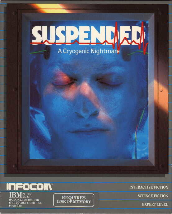 Suspended DOS Front Cover