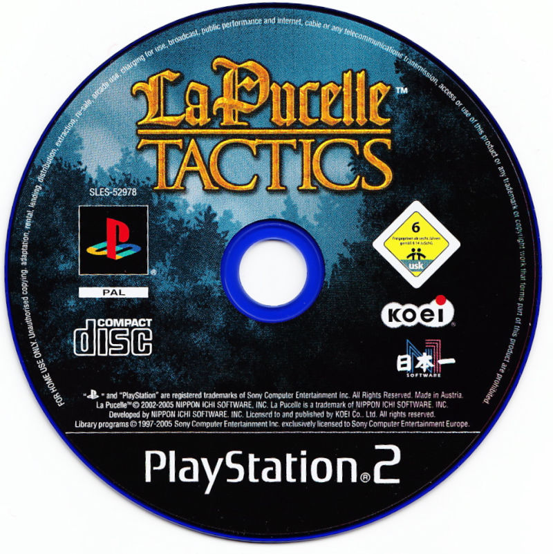 La Pucelle: Tactics PlayStation 2 Media