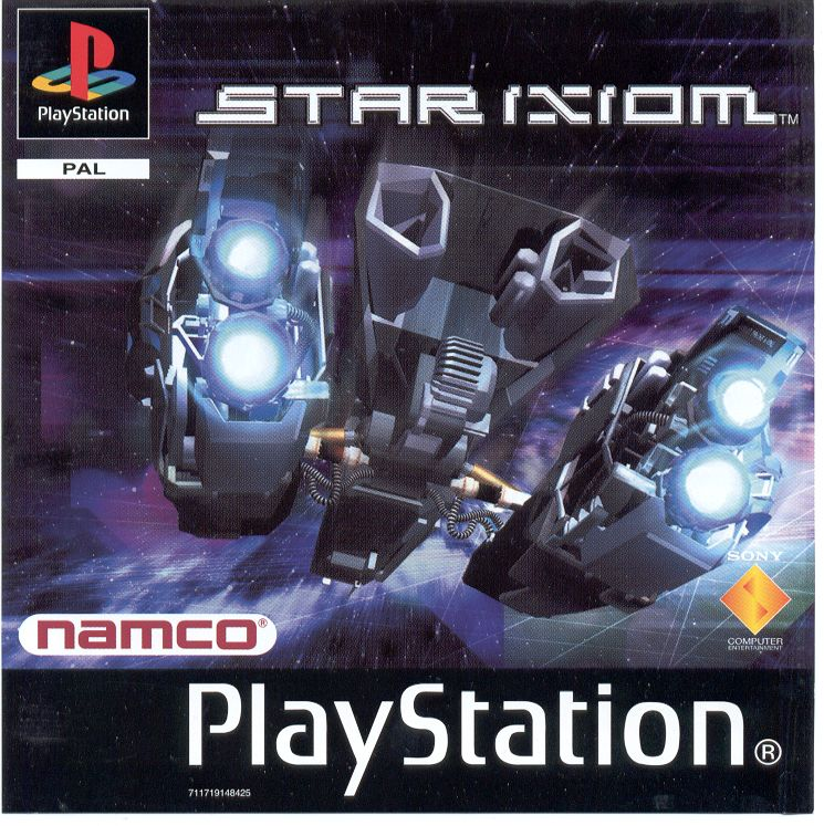Star Ixiom PlayStation Front Cover