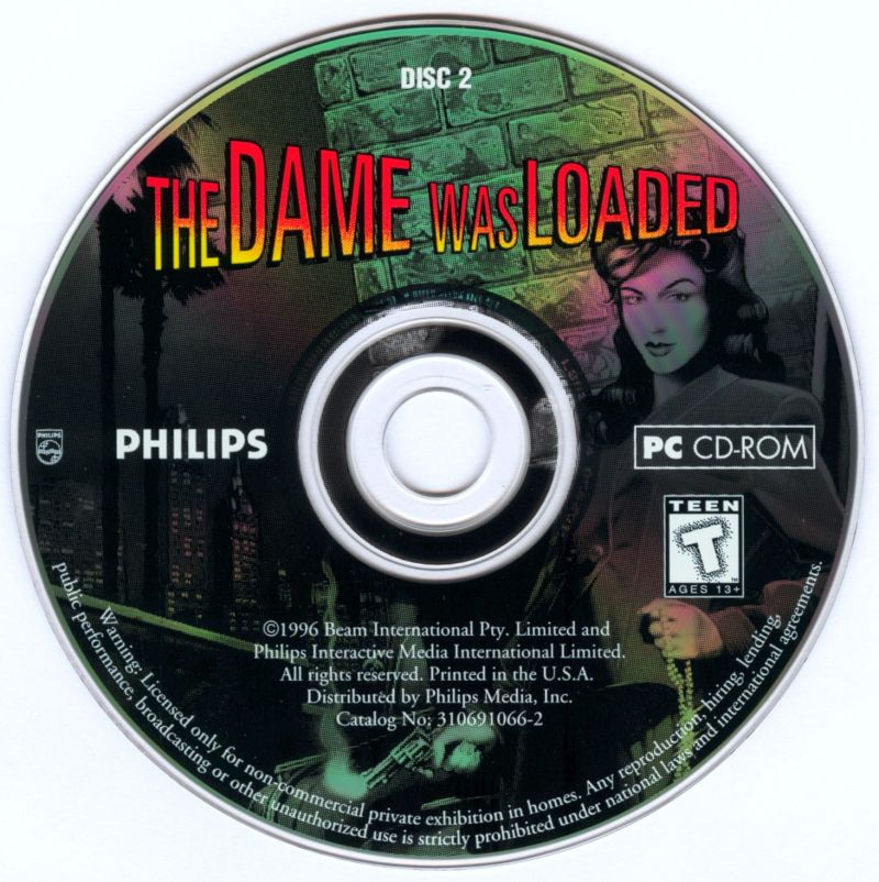 The Dame Was Loaded DOS Media Disc 2