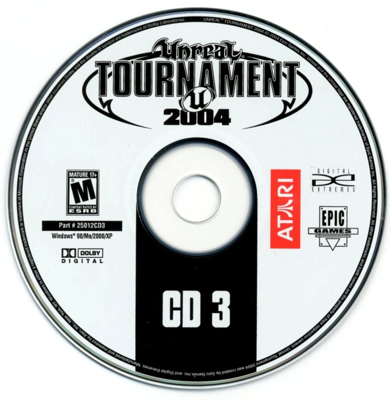 Unreal Tournament 2004 Linux Media Disc 3