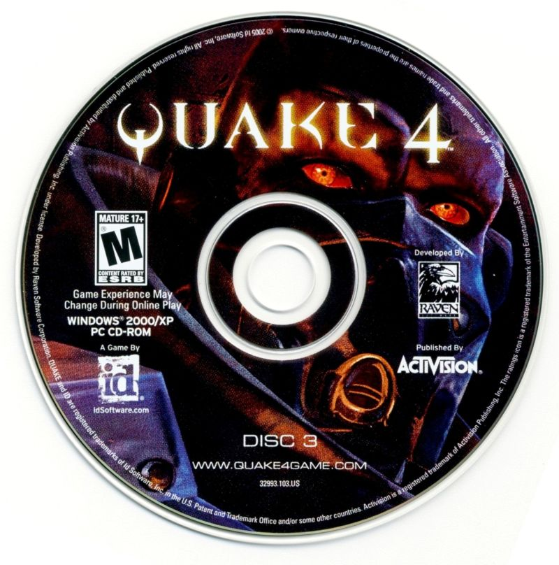 Quake 4 Windows Media Disc 3
