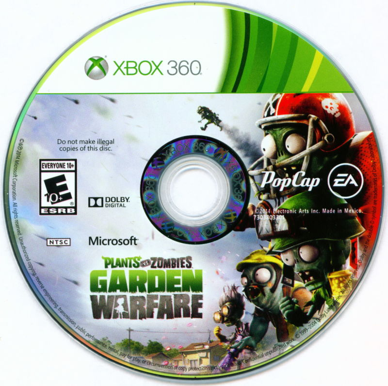 plants vs zombies garden warfare xbox 360 media - Plants Vs Zombies Garden Warfare Xbox 360