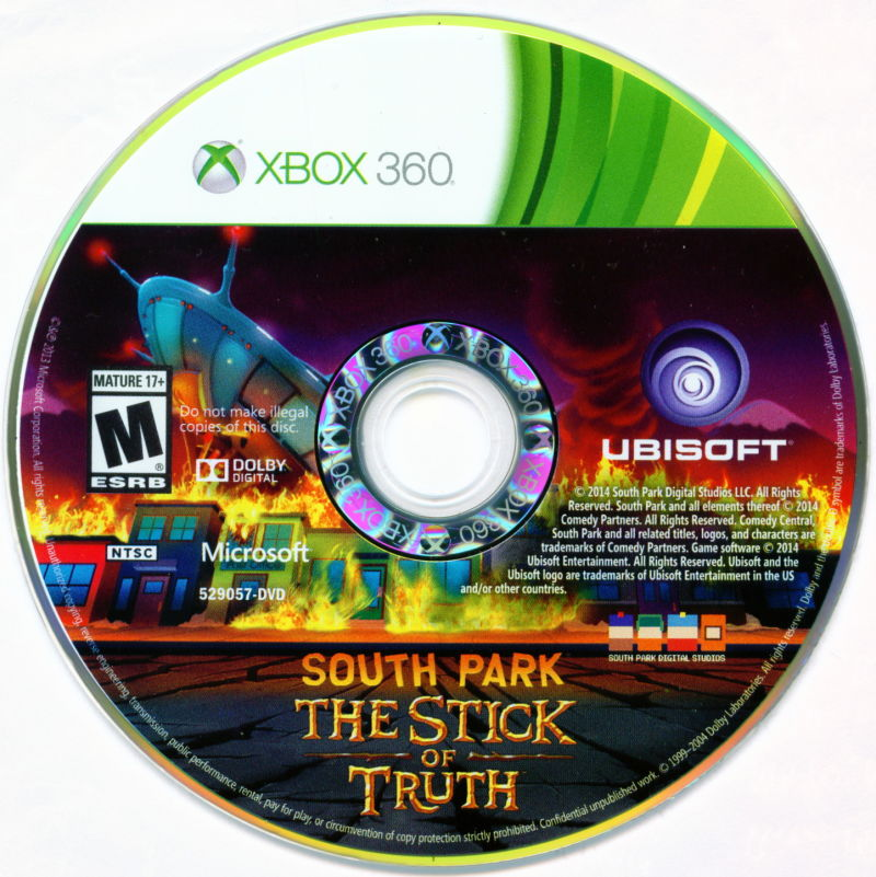 South Park: The Stick of Truth Xbox 360 Media
