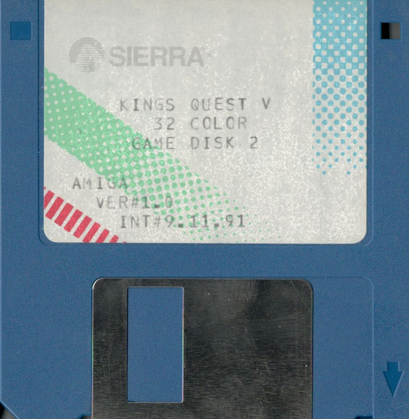 King's Quest V: Absence Makes the Heart Go Yonder! Amiga Media Disk 2