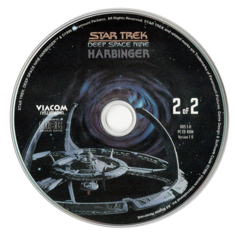 Star Trek: Deep Space Nine - Harbinger DOS Media Disc 2
