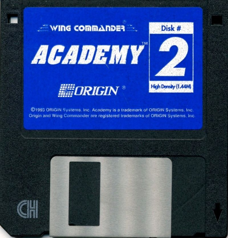 Wing Commander Academy DOS Media Disk 2