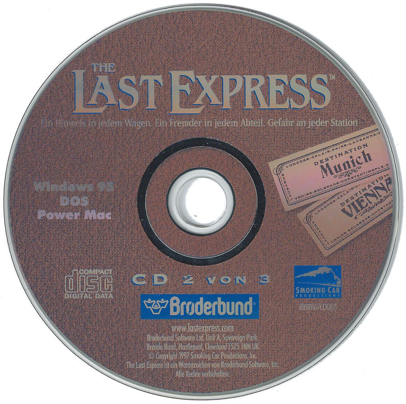 The Last Express DOS Media Disc 2