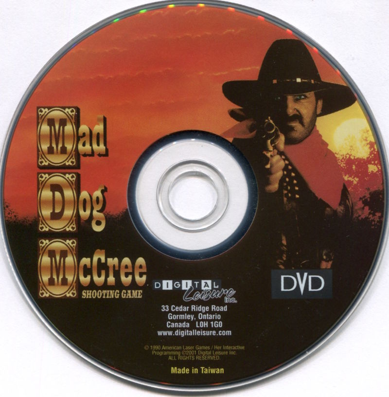 Mad Dog II: The Lost Gold DVD Player Media