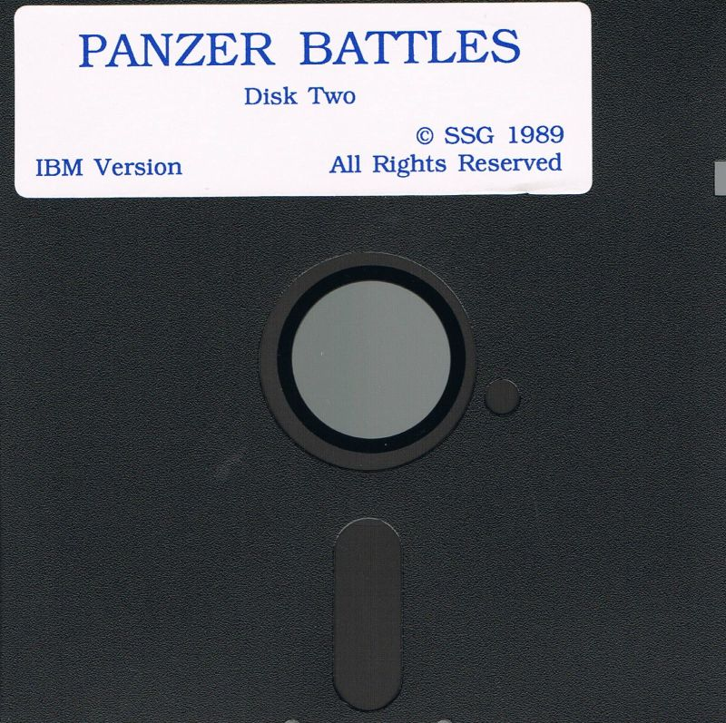 Panzer Battles DOS Media Disk Two