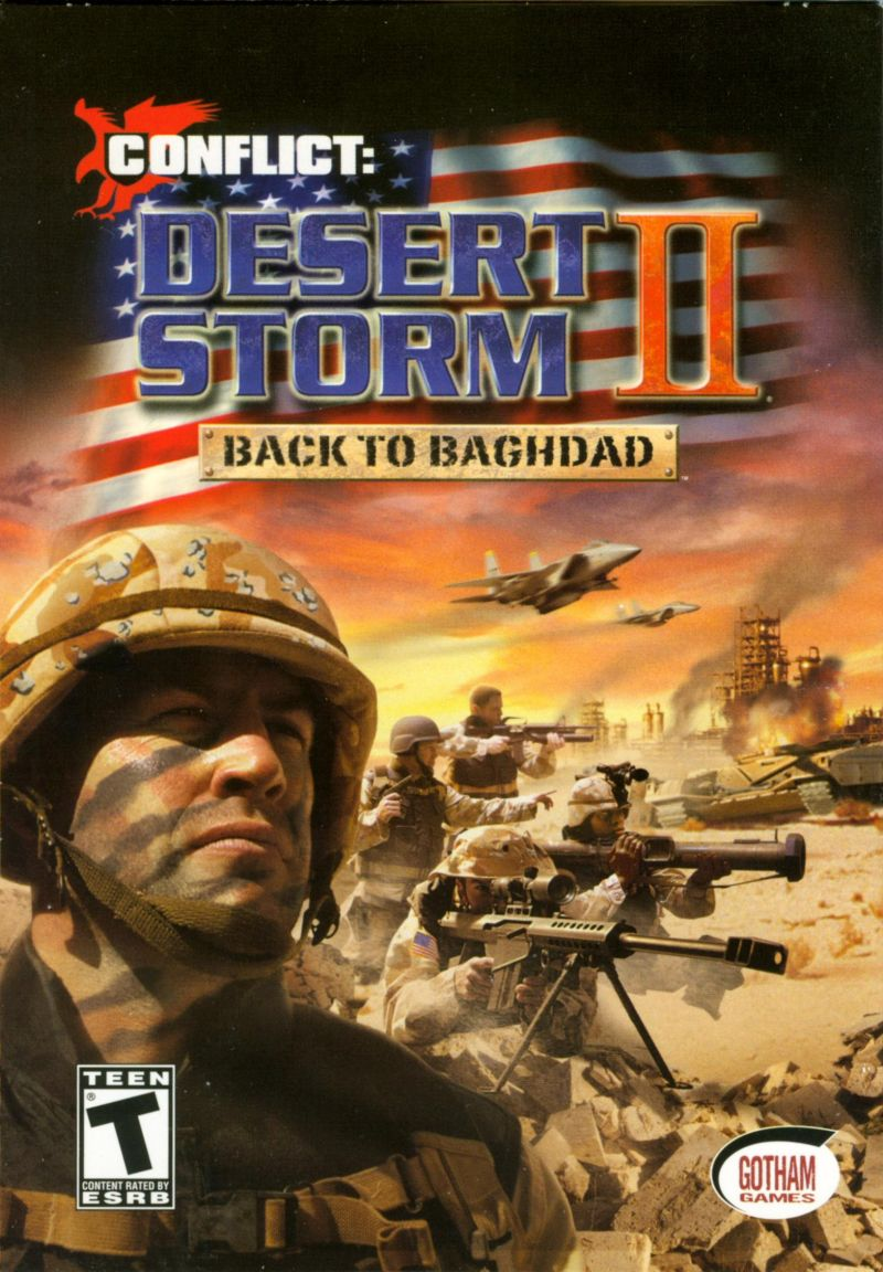 Conflict: Desert Storm II: Back to Baghdad Windows Front Cover