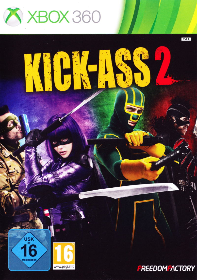 Kick-Ass 2 Xbox 360 Front Cover