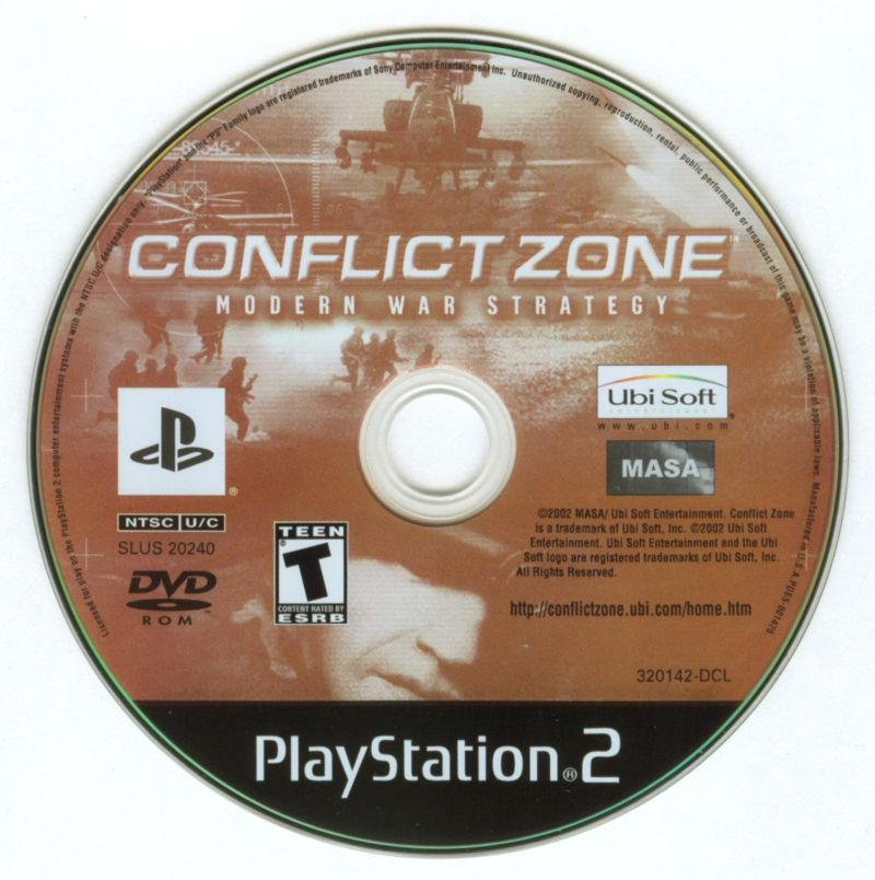 Conflict Zone PlayStation 2 Media