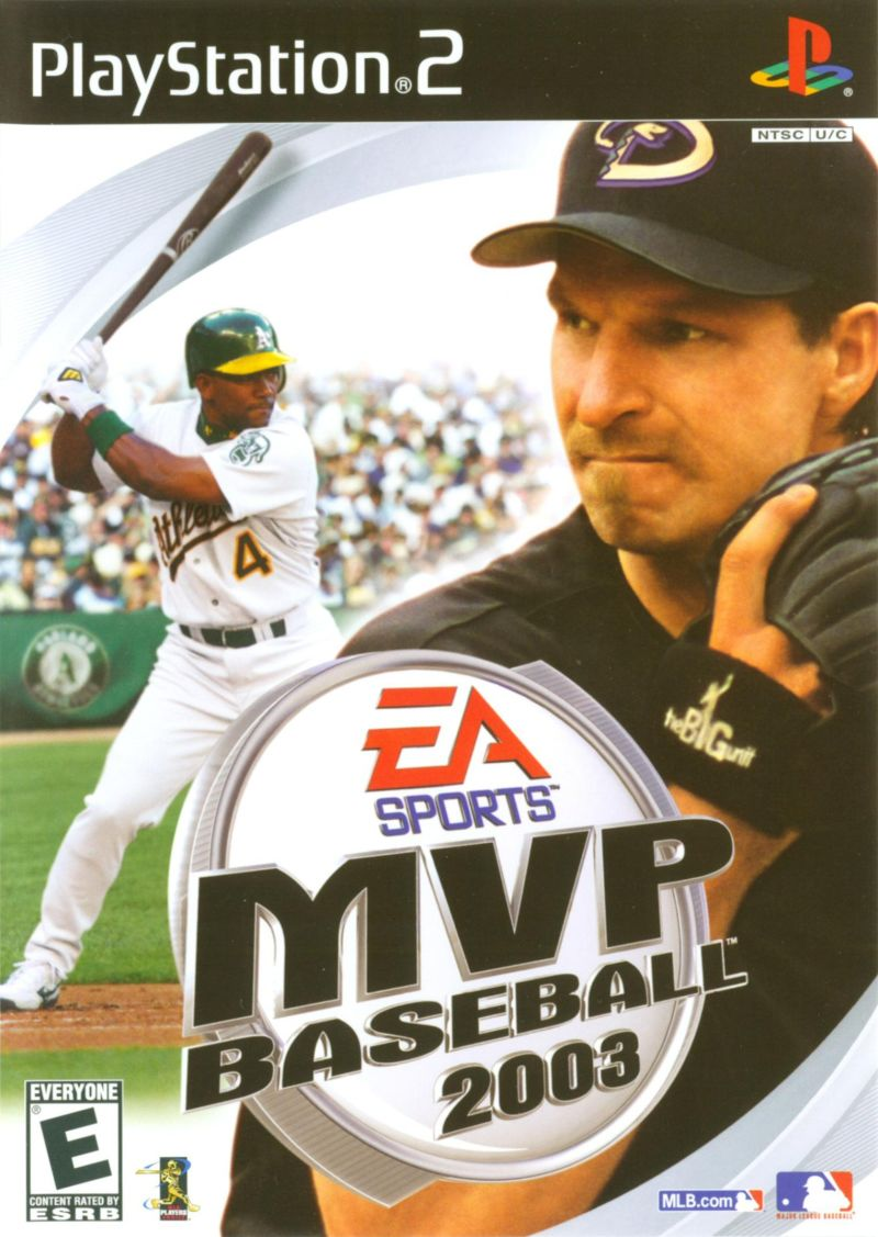 MVP Baseball 2003 PlayStation 2 Front Cover