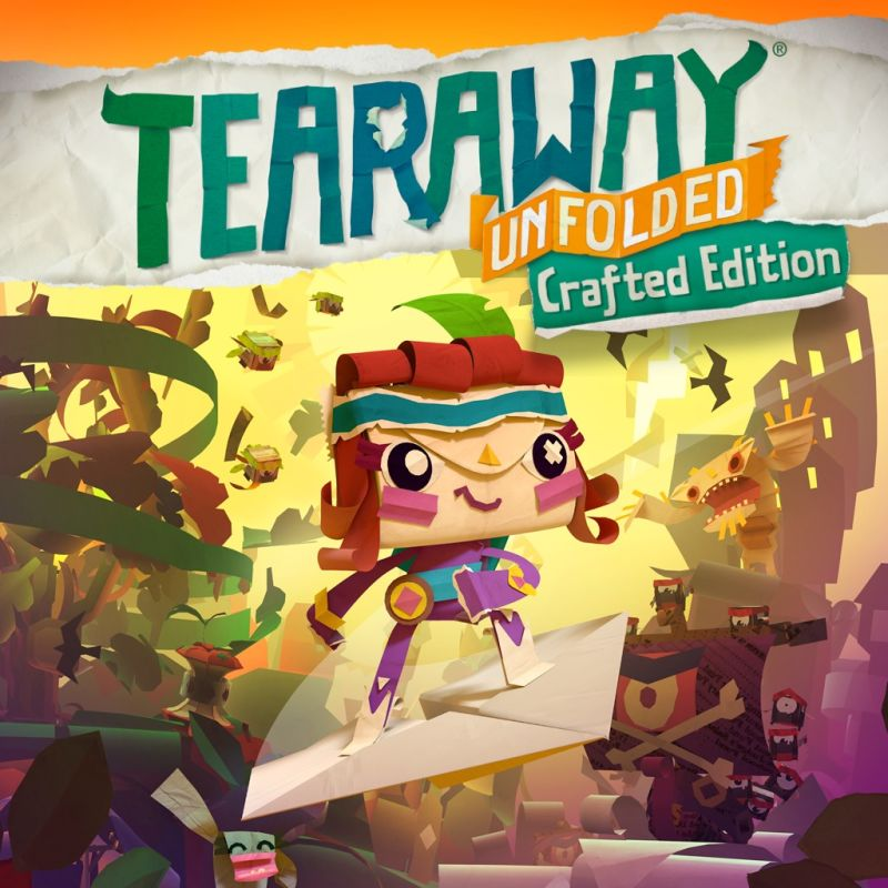 обложка 90x90 Tearaway: Unfolded (Crafted Edition)