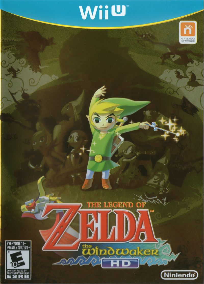 The Legend of Zelda: The Wind Waker Wii U Other Keep Case - Front