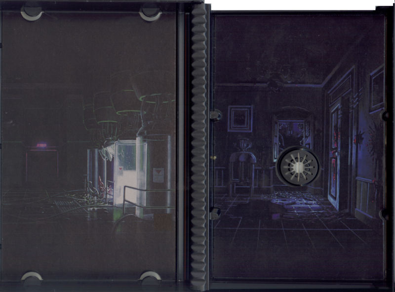 Resident Evil PlayStation Inside Cover