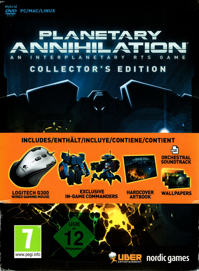 Planetary Annihilation (Collector's Edition) for Windows (2014