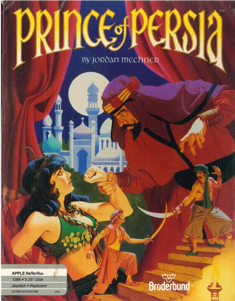 Prince of Persia Apple II Front Cover