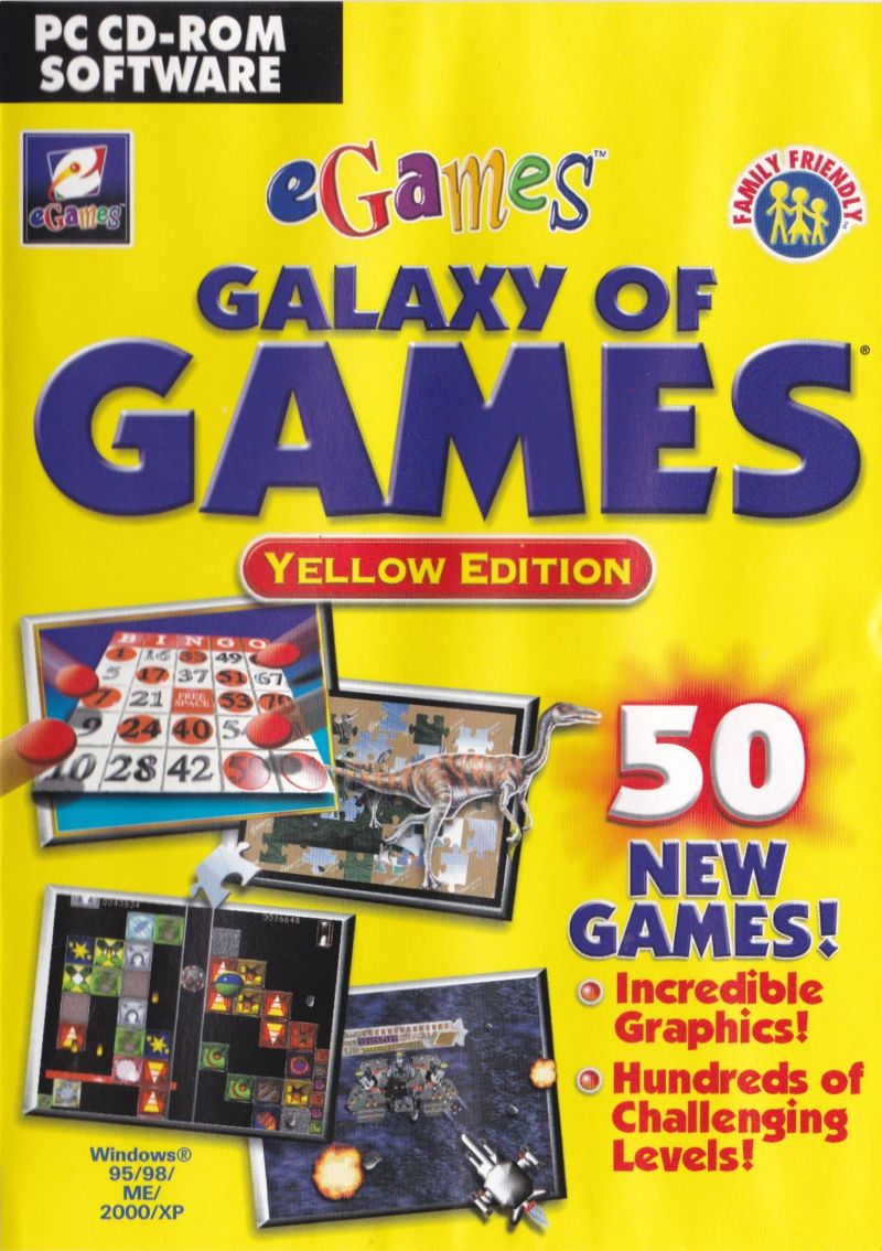 Galaxy of Games: Yellow Edition for Windows (2002) - MobyGames