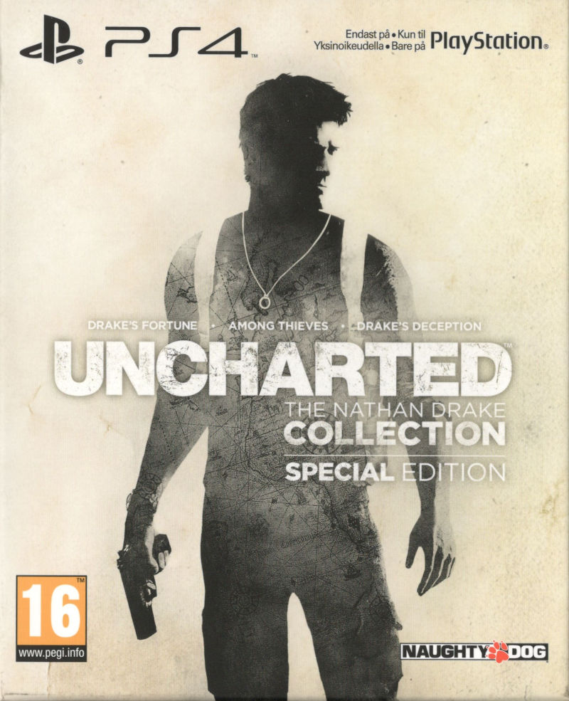 Uncharted The Nathan Drake Collection Special Edition 2015 Playstation 4 Box Cover Art Mobygames
