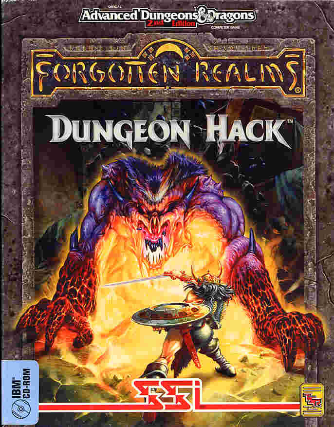 Dungeon Hack DOS Front Cover