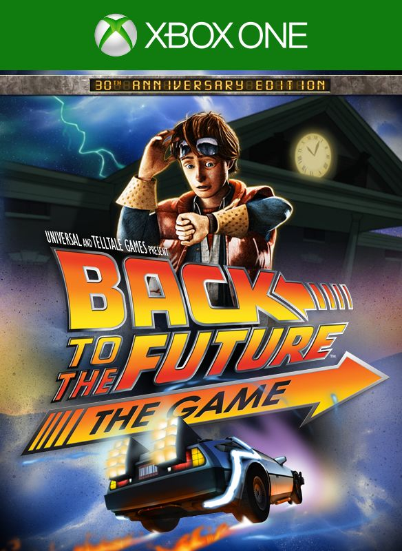 Back To The Future The Game 2015 Xbox One Box Cover Art