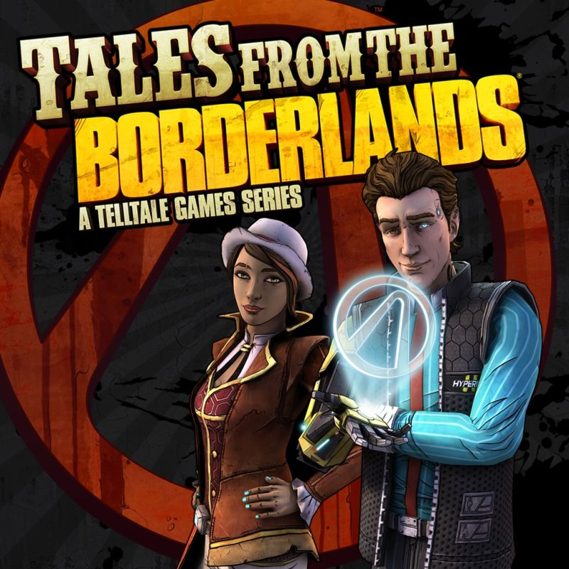 Tales from the Borderlands: Episode 1 - Zer0 Sum PlayStation 3 Front Cover
