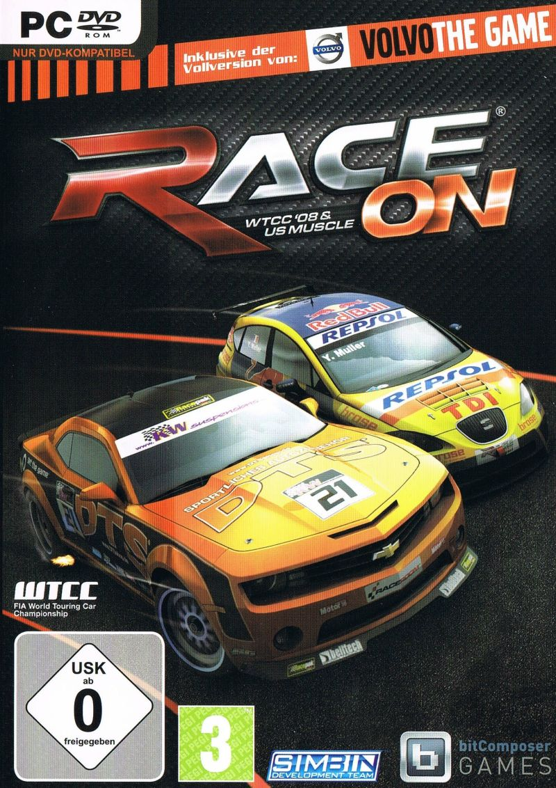 RACE On Bundle Windows Front Cover