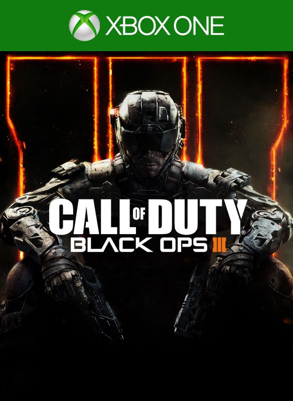 Call Of Duty Black Ops Iii 2015 Xbox One Box Cover Art Mobygames
